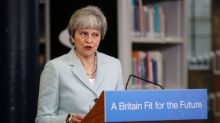 Hard Brexit faction in May's party demands clean break from EU