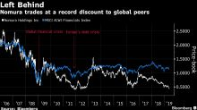 Nomura Sinks to Crisis-Level Valuation as Bad News Keeps Coming