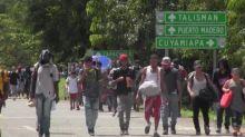 México disuelve caravana de 2.000 migrantes