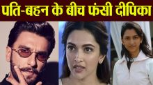 Deepika Padukone gets stucked between Ranveer Singh & Anisha