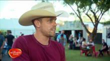 Country star Dustin Lynch down under