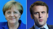 Merkel confident Macron would be 'strong president'
