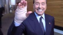 Berlusconi: serio infortunio alla mano giocando con il Monza