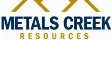 John Anderson Joins Metals Creeks Board of Directors, Lorne Woods Resigns
