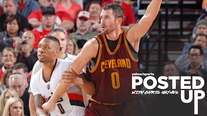 Posted Up - Kevin Love on potentially returning home: 'If I was wearing a Portland jersey…that's special'