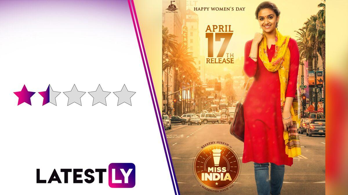 Miss India Movie Review: Keerthy Suresh's Netflix Film Brews an Uninspiring Tale From a Bland Recipe!
