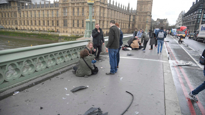 Westminster terrorist was travelling at 76mph during attack