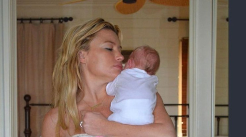 Tracy Anderson shares reality of breastfeeding