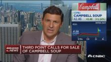 Third Point calls for sale of Campbell Soup Co.