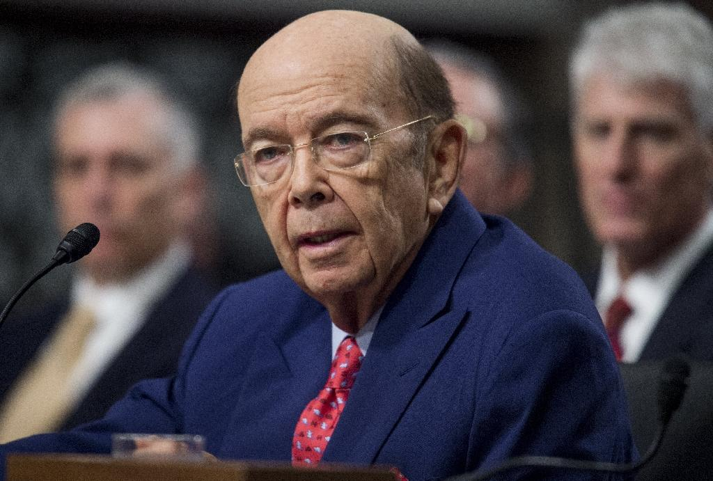 "US Commerce Secretary Wilbur Ross, seen in January 2017, said renegotiation of NAFTA would not begin until late in the year and hopefully will not last more than a year but noted ""these are very complicated issues"" (AFP Photo/SAUL LOEB)"
