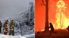 Canadian firefighters give up Christmas with families to fight Aussie bushfires