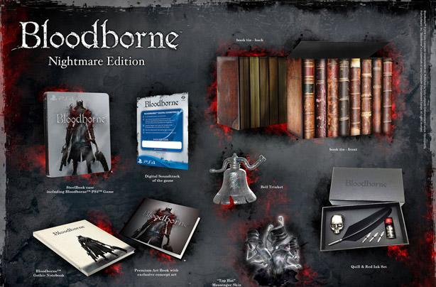 Bloodborne's European limited editions target bookish goths