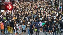 Thousands of Thai protesters return to streets after police clashes