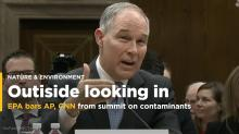 EPA blocks some media from summit, then reverses course