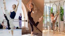 芭蕾舞健身操不但能讓體態優美 只用10分鐘做2個動作 全身爆汗兼減脂