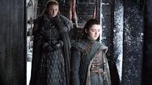 This New Sophie Turner and Maisie Williams Interview Adds Fuel to a Big   Game of Thrones Theory