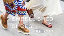 打破 Less is More 的概念!5 對充滿細節感的夏季涼鞋推介