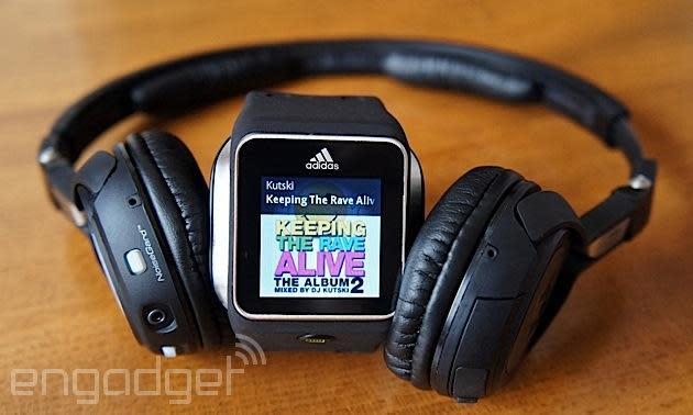 Adidas adds Microsoft's MixRadio to its miCoach Smart Run watch
