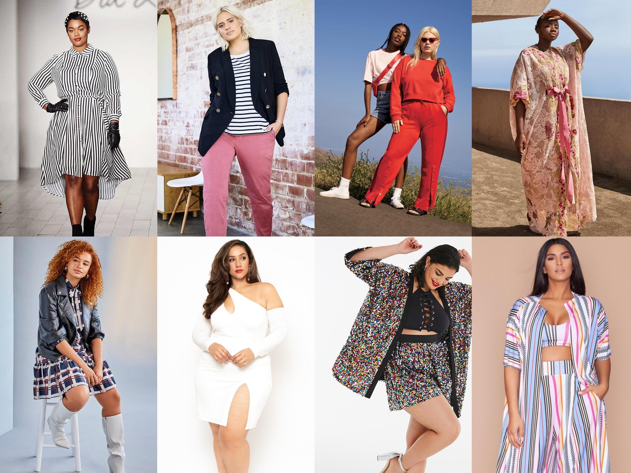 <p>The best retailers serving you the best plus-size fall fashion. (Photo: Dia & Co., Loft, Wild Fable, 11 Honoré, Eloquii, Curvy Sense, Simply Be, Rue 107) </p>
