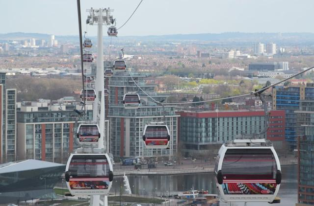 Contactless payments now accepted on London's cross-Thames cable car