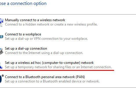 Windows 7 Starter comes with hidden wireless connection sharing
