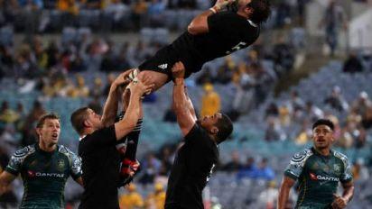 Rugby - Championship - Les All Blacks humilient l'Australie dans le Rugby Championship et remportent la Bledisloe Cup