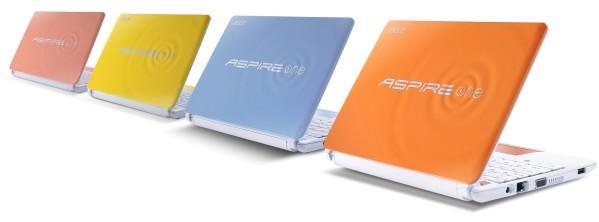 Acer announces Aspire One Happy 2 netbook for the US market, shows its commitment to pastels