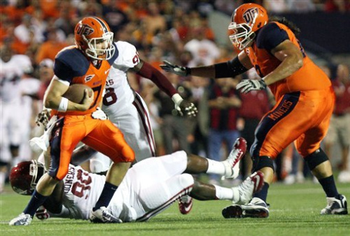 No. 4 Sooners survive for 24-7 win over UTEP