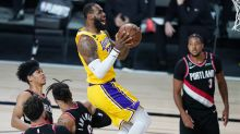 Los Angeles Lakers complete first-round series win as NBA play-offs resume