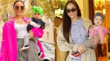 Sabrina e Zoe Sato é a dupla mais fashion das semanas de moda