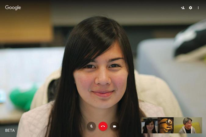 Hangouts video calls are getting a quality boost