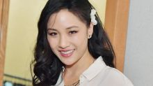Constance Wu's new pink ombré hair looks like a rose gold iPhone