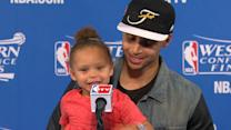 Stephen Curry's daughter steals the show again
