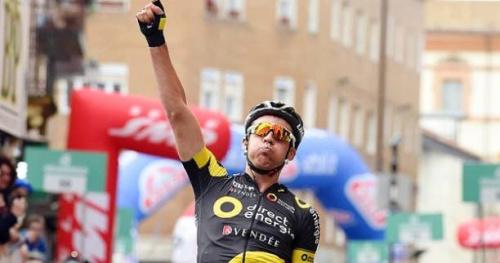 Cyclisme - C. de la Sarthe - Lilian Calmejane remporte l'étape-reine du Circuit de la Sarthe