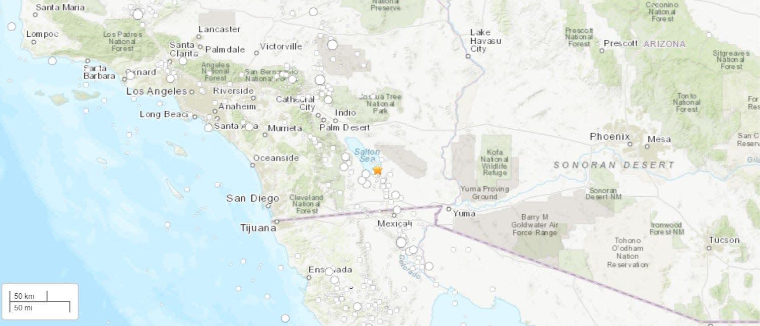 5.3 Magnitude Earthquake Shakes Southern California