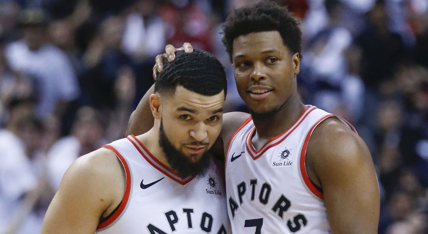Image result for lowry and vanvleet