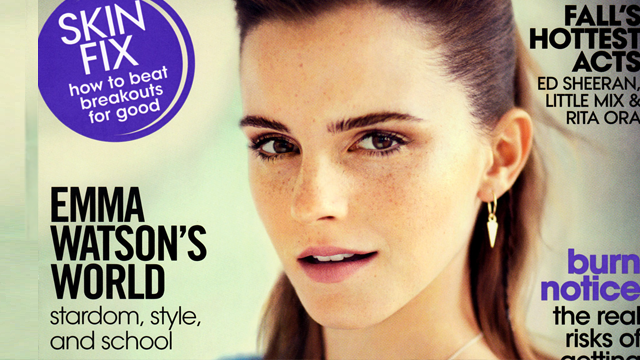 Emma Watson on The Cover of Teen Vogue