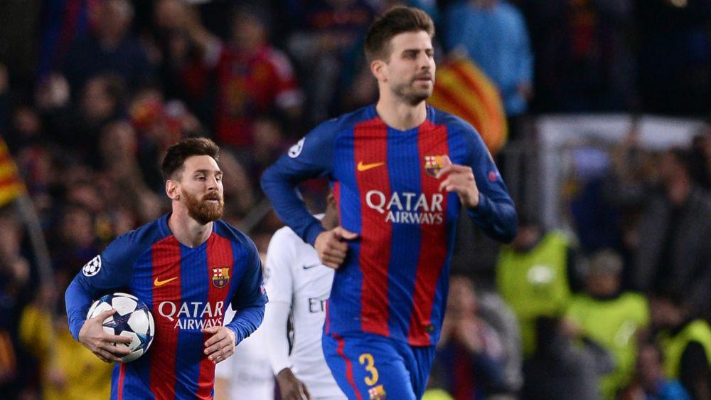"""Piqué: """"se não vencermos a Champions, o milagre contra o PSG não fará sentido"""""""