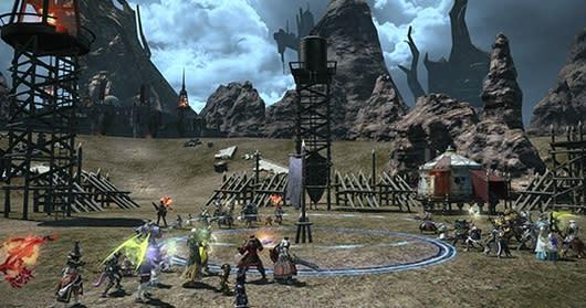 Final Fantasy XIV previews Frontline