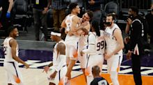NBA playoff tracker: Late foul in Suns-Trail Blazers gives Lakers a shot of avoiding play-in tournament