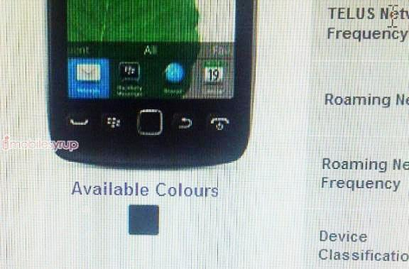 BlackBerry Torch 9810 and 9860 may drop on Telus August 15th