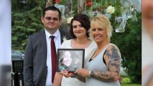 Mother of organ donor meets recipient at his daughter's wedding
