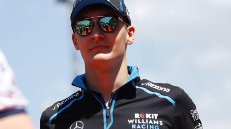 F1 - GP d'Émilie-Romagne - George Russell présente ses excuses à Valtteri Bottas après l'accrochage des deux pilotes à Imola
