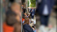 Régionales: échange tendu sur un marché entre Éric Dupond-Moretti et un candidat RN