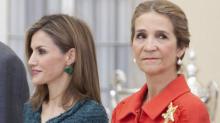 """Bronca tremenda entre Letizia y la infanta Elena: """"Tú eras pobre y plebeya"""""""