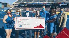 Mountain America Credit Union Donates $15,000 to BroncoLife Program