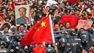 Raw Video: Anti-Japan riots in China