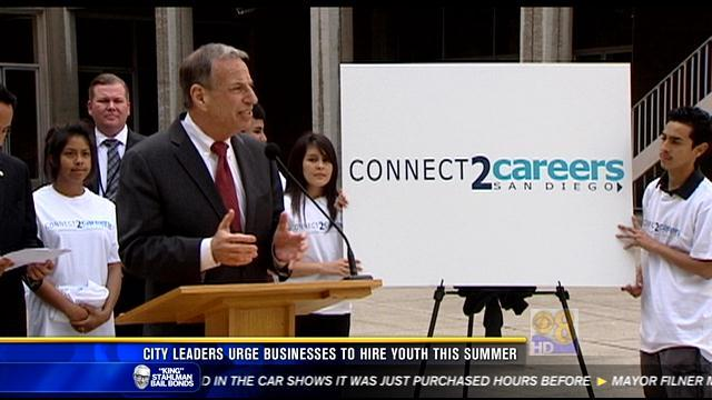 City leaders urge businesses to hire youths this summer