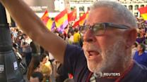 Thousands protest against monarchy in Spain