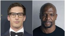 Andy Samberg supports Terry Crews, 50 Cent explains LOL post